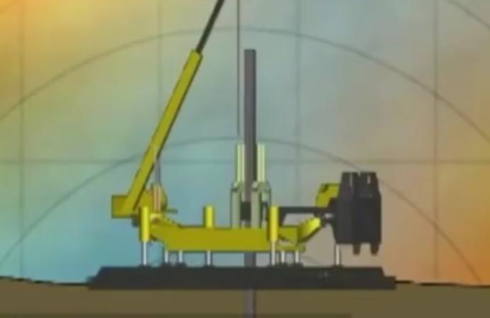 难怪现在都听不到工地上的噪音了, 原来都用这种静音打桩机!