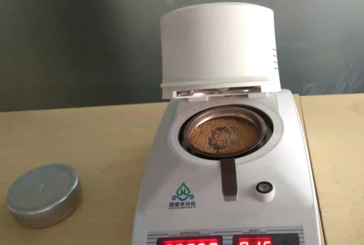 医药颗粒水分检测视频,医药品快速水分测定仪(冠亚水分检测仪)