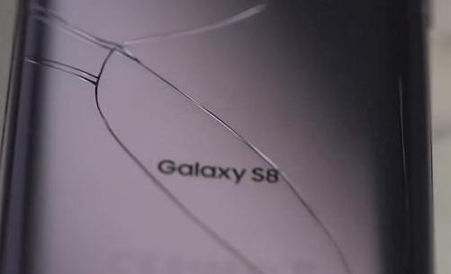 三星S8跌落测试:背部玻璃面板脆弱,屏幕耐摔