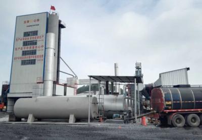 南方路机全环保沥青混合料搅拌设备应用实例简介