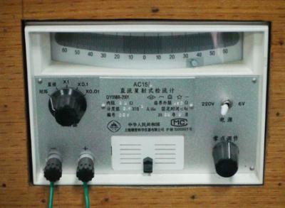 LED显示的检流计电路的原理