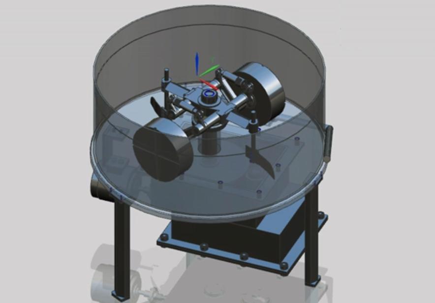 基于UG的碾轮式混砂机的三维设计动画演示