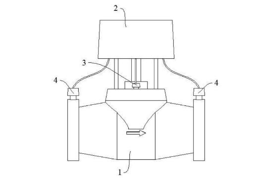新专利:调节阀执行器一体化装置及其流量控制方法