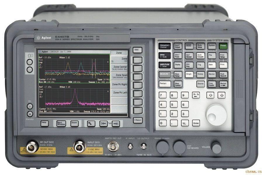 安捷伦频谱仪使用注意事项