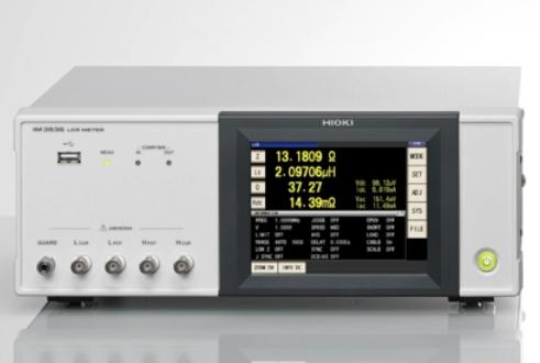 日置LCR测试仪IM3536测量电感器的频率特性