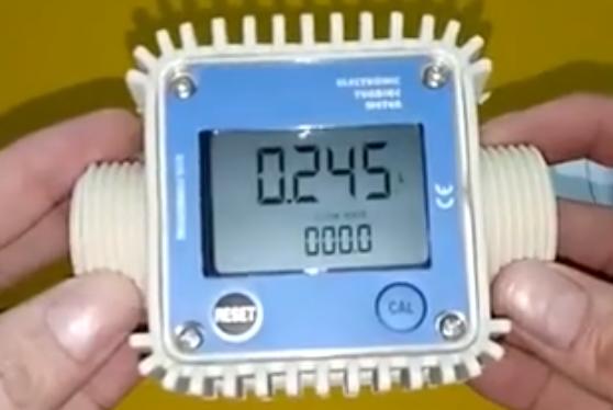 新的产品新的亮点:数字流量计K24