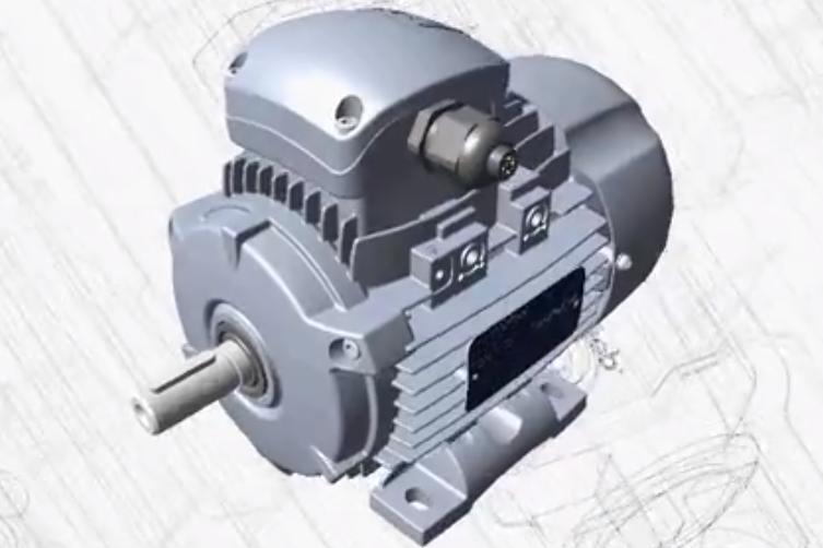 Motive Delphi(德尔菲)系列IE2和IE3工业三相异步交流电机