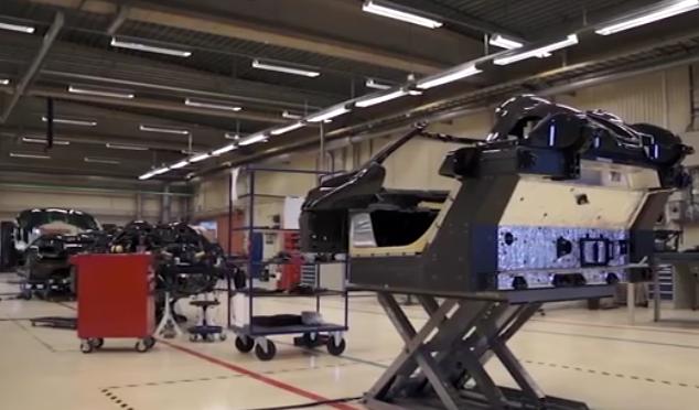 全球首个碳纤维汽车生产车间,涵盖所有汽车配件