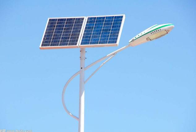 全铝一体化太阳能专利产品路灯