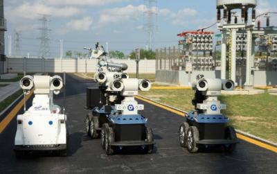 """同时投入四个智能机器人 南网""""最聪明""""变电站对外输电"""