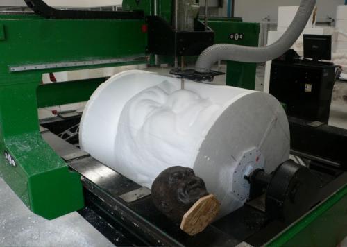 震荡刀雕刻机泡沫、皮革验机实拍加工视频