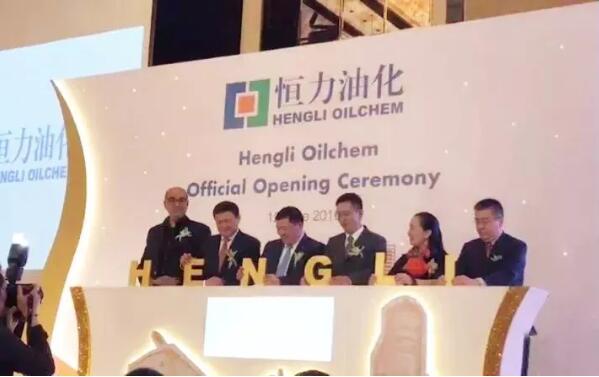 恒力与中化集团联合成立新加坡贸易公司恒力油化