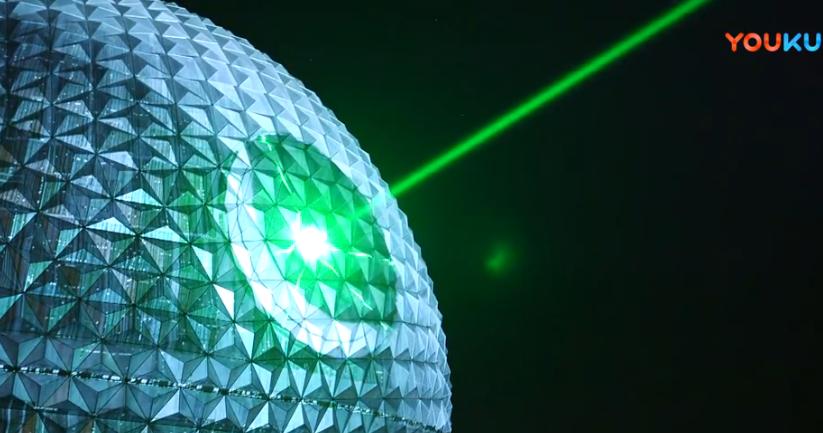 绿光单模光纤激光器GLPN-100-QCW 进驻迪士尼