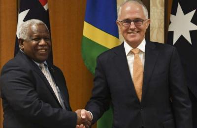 澳大利亚金钱攻势 所罗门群岛弃用华为海底光缆