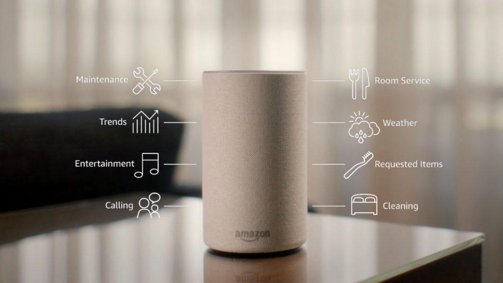 Echo :万豪酒店接入亚马逊 Alexa