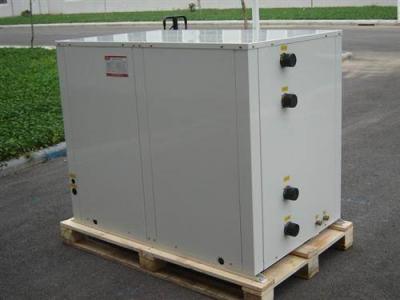 水源热泵系统解决商WFI水空机组成功应用开放街区