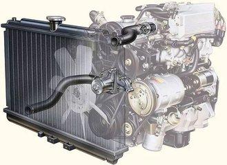 汽车发动机的散热器究竟有多脏?看过你就知道了