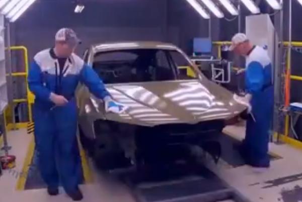 工厂探秘 宝马涂装生产车间曝光