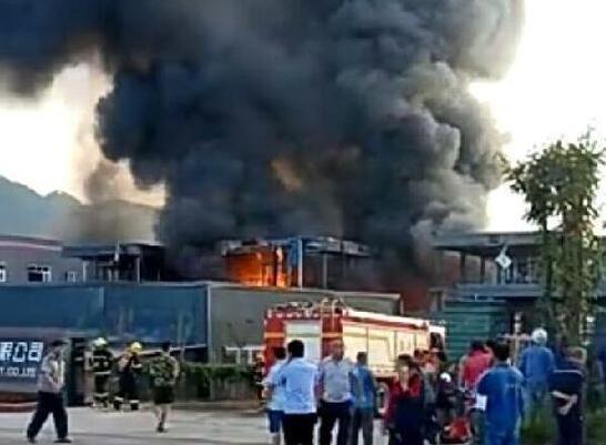 四川江安工业园区发生特大爆燃事故 已致19死12伤!