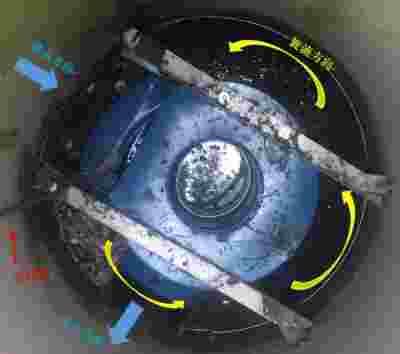 浦华环保雨污截流装置试点工程接受大雨考验 运行顺利
