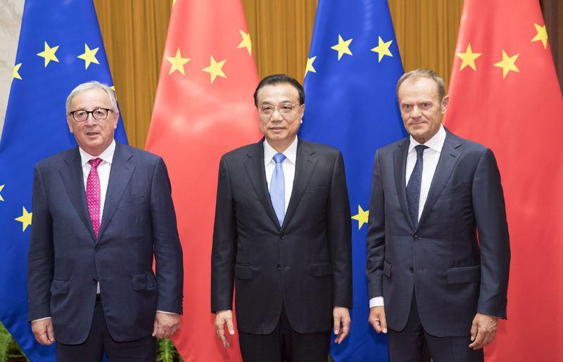 中欧领导人关于气候变化和清洁能源发布联合声明