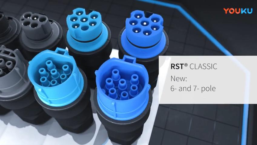 高防护等级防水连接器 RST classic