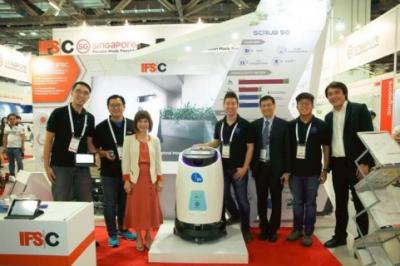 强强联手 高仙无人驾驶洗地机新品在新加坡重磅发布