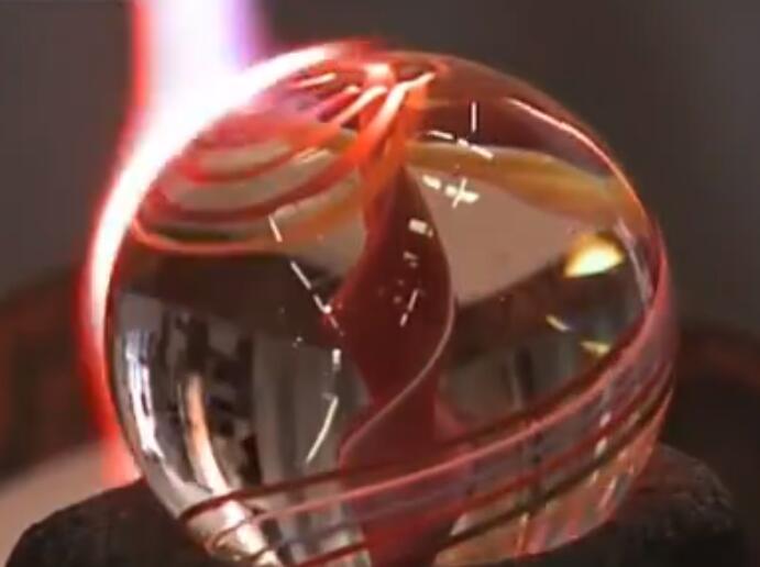 走进德国百年企业, 实拍玻璃生产工艺