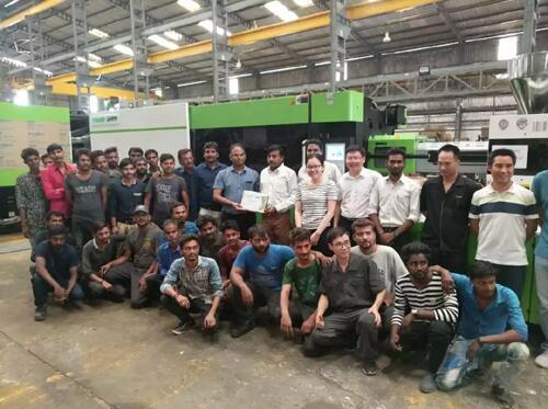 第100台注塑机顺利出机,伊之密印度公司投产一年成绩亮眼