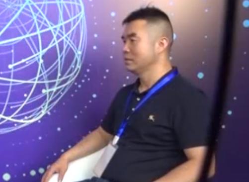 宁波立成涂装技术有限公司总经理龙开成接受采访