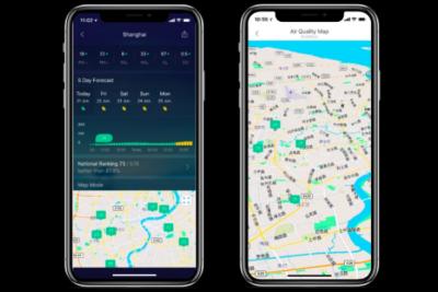 全球地理位置数据平台Mapbox与墨迹天气达成合作,提供高清可视化气象云图