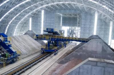 蒂森克虏伯又造庞然大物了——水泥生产中的全自动存储系统