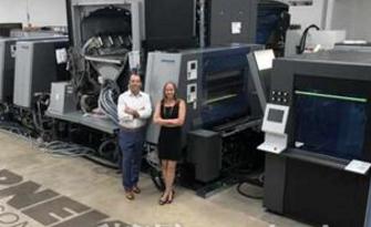 Warneke纸盒公司安装美国首台B1幅面数码印刷机