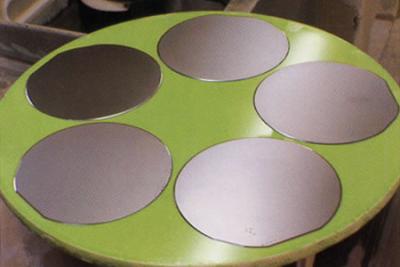 洛单集团8英寸硅抛光片项目试产 成功拉制出8英寸电路级单晶硅棒
