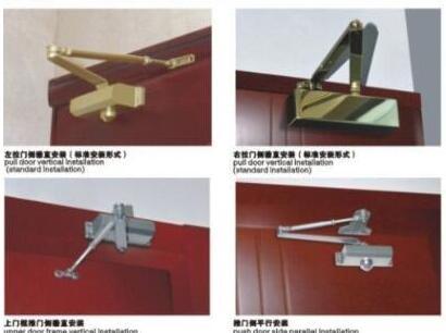 闭门器安装方法图解及常见问题