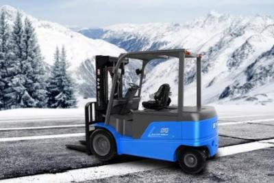 """比亚迪5吨电动平衡重叉车:市场新""""宠儿"""""""
