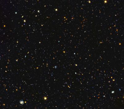 震撼!哈勃望远镜一次将1.5万个星系塞进照片