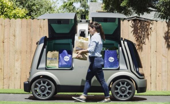 杂货巨头Kroger和自动驾驶汽车创业公司Nuro首次在亚利桑那州斯科茨代尔推出无人驾驶送货服务