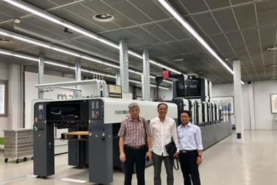 越南首台ROLAND 700 EVOLUTION卓越版印刷机将秋季安装