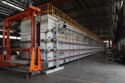 南京年达炉业智能铝合金轮毂热处理生产线通过美国ACCRIDE集团验收