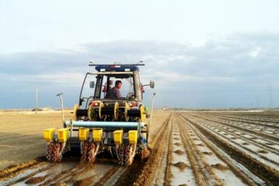 雷沃阿波斯农机导航自动作业系统助力新疆现代农业生产