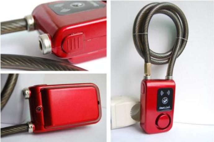 电动车智能防盗报警器安装说明