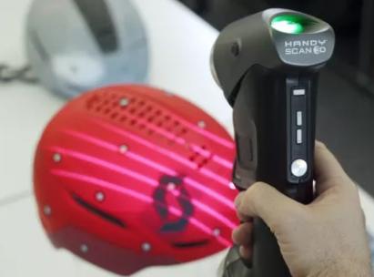 Creaform 3D扫描仪:安全头盔还可以这么