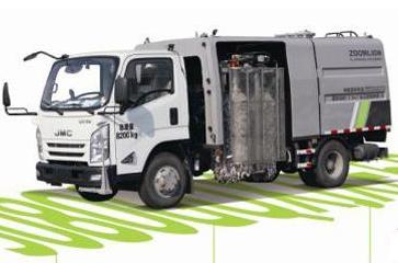 中联环境新品上市:清洗车领域的创新风暴来袭