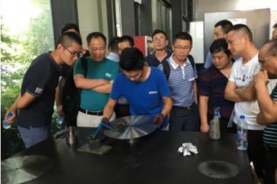 阿库信息日:探究矫平工艺为锯片行业带来的价值