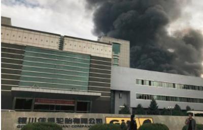 銀川市佳通輪胎公司突發火災!曾因環保治理不力被處罰