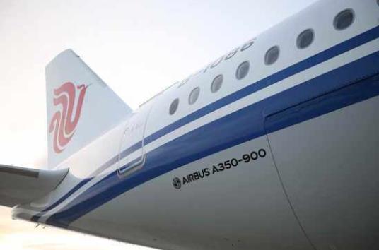 中国国航首架空客A350客机涂装全记录