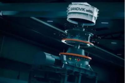 山特维克推出全新CH800i系列互联破碎机