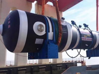 上海电气承建田湾核电5号机组首台蒸发器顺利发运
