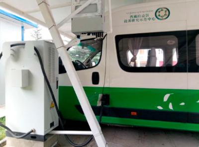 我国首个具备负荷虚拟同步功能的充电桩在泰州运行成功